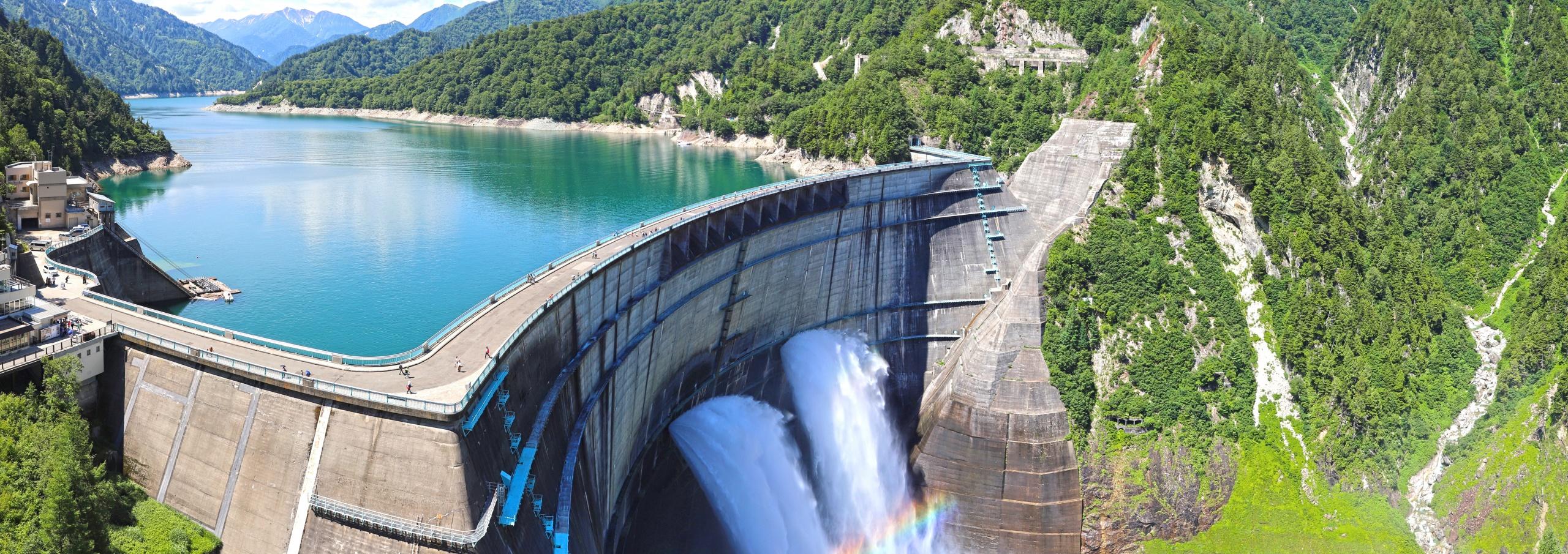 【富山県 日本の観光名所】日本最大級の黒部ダム